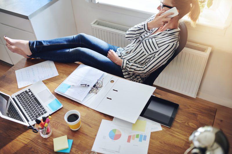 Entspanntes Arbeiten, flexibel und mobil