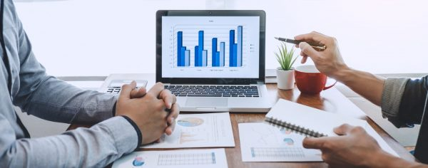 company growth project success financial statistics