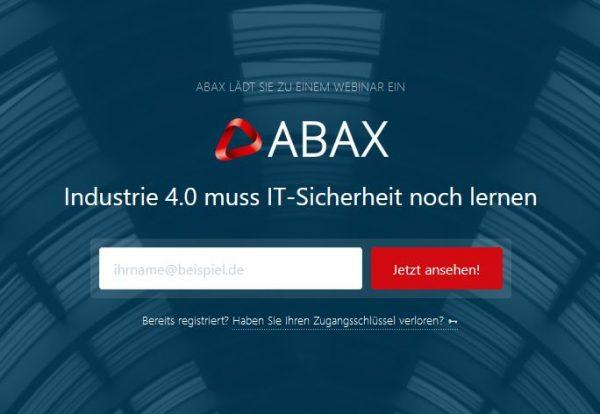 ABAX IoT Webinar 2020