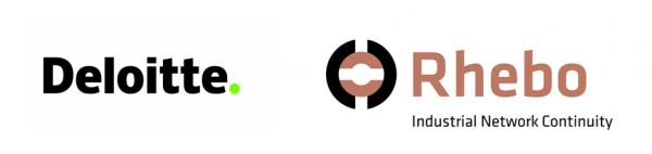 Rhebo & Deloitte Logo